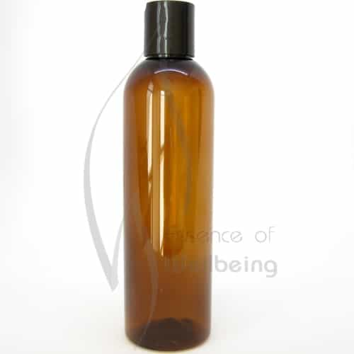 250ml Amber Pet Bottle with disc cap