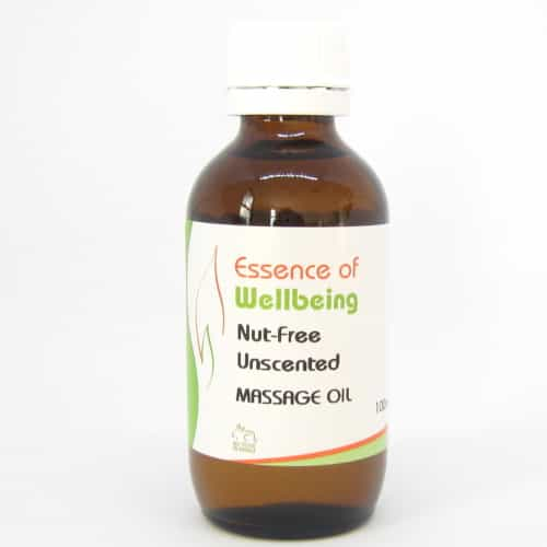 Nut-Free Unscented Massage Oil